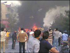 Protest in Iran
