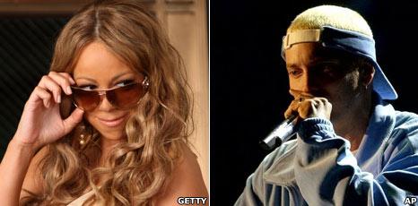 Eminem attacks Mariah in new song - BBC Newsbeat