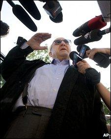 Karlheinz Schreiber in Toronto, 2 August 2009