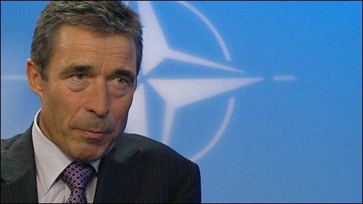 Anders Fogh Rasmussen, Nato secretary-general