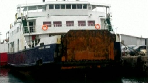 MV Princess Ashika ferry in Nuku'alofa