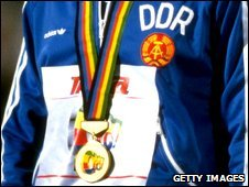 East German medal-winner