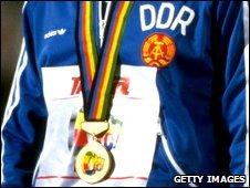 East German medal-winner