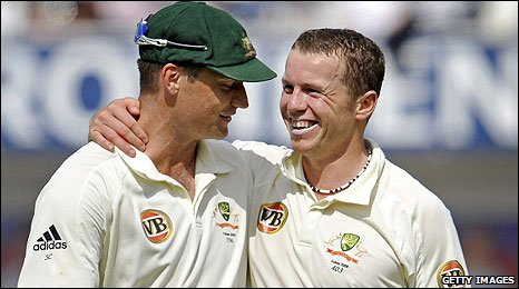 Stuart Clark and Peter Siddle