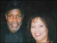 Danny Glover and Paula