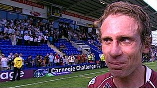 Huddersfield's Brett Hodgson