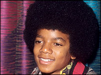 Michael Jackson in The Jackson Five