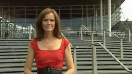 BBC Wales Political Editor Betsan Powys