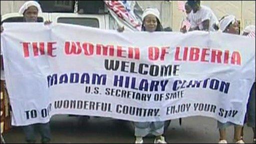 Clinton in Liberia