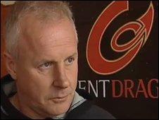 Dragons coach Paul Turner