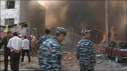 Ingushetia blast