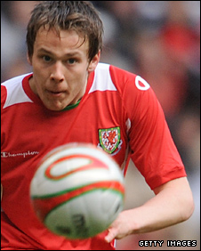 Nottingham Forest and Wales defender Chris Gunter