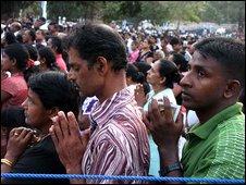 Pilgrims at Madhu