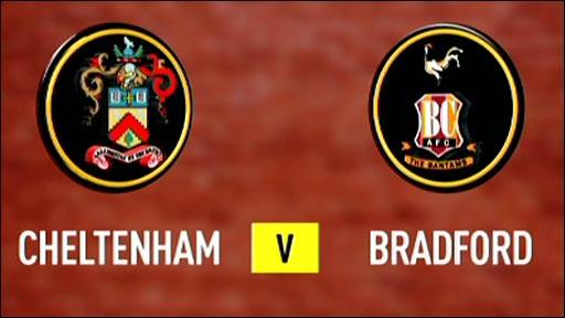 Cheltenham v Bradford