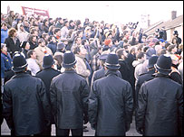 The 1984-5 Miners Strike began at Cortonwood Colliery in 1984