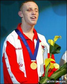 Jamie Arthur enjoys his Commonwealth win