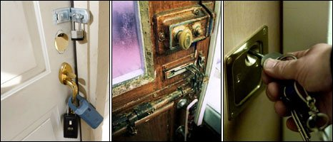 Locked doors [picture credit (from left to right: Getty Images, SPL, AP)]