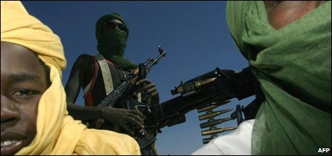 Members of Sudan Liberation Army, file image