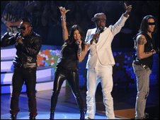 Black Eyed Peas perform in California - 9 August 2009
