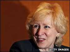Former Canadian Prime Minister Kim Campbell