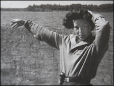 Nina at the San River helping British airmen escape in 1944