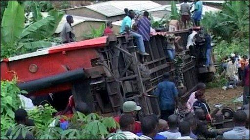 Cameroon crash
