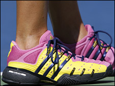 Melanie Oudin's trainers