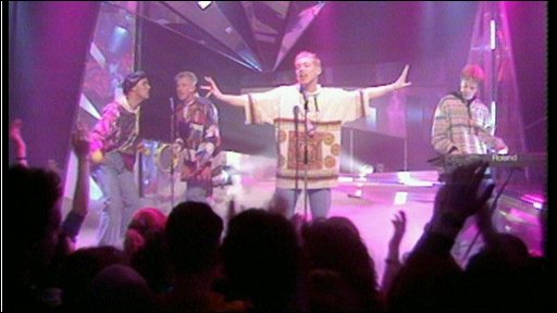 Candy Flip perform Strawberry Fields Forever on Top Of The Pops in 1990.