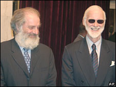 Robert Fowler (right) and Louis Guay. Photo: April 2009