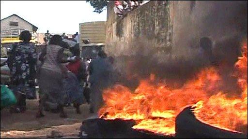 Riots in Kampala