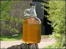 Bottle of cider