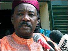 Mahamadou  Issoufou (File photo)