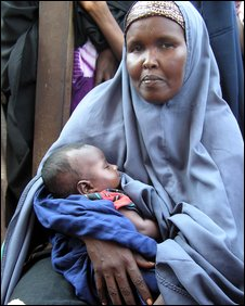 Somali refugee mother who left her six other children in Mogadishu