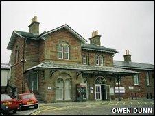 Stonehaven railway station [Pic: Owen Dunn]