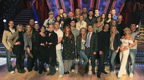 Strictly Come Dancing line up 2009