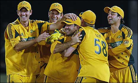 Australia were too good for England in the one-day series