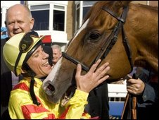 Frankie Dettori and Jimmy Styles