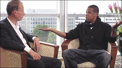 Andrew Marr meets Jay-Z