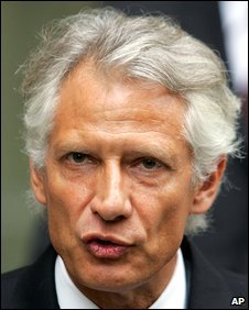 Dominique de Villepin, file pic from July 2007