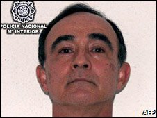 Julio Alberto Poch. Handout photo released by Spanish police