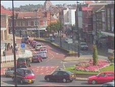 St Matthew's Street roundabout, Ipswich