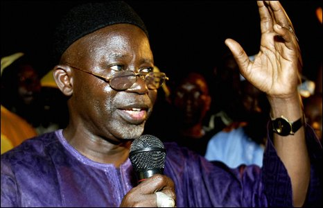 Oussainou Darboe, leader of the United Democratic Party