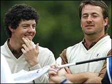 McIlroy and McDowell got GB & Ire off to a flier