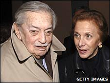 Ertugrul Osman and his wife, Zeynep, file pic from March 2007