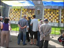 Chess tournaments in Jermuk.