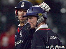 Matt Prior and Eoin Morgan