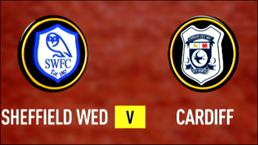 Sheffield Wednesday 3-1 Cardiff