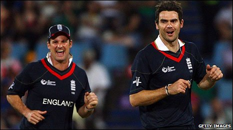 Andrew Strauss and James Anderson