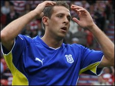 Michael Chopra has not scored in the last six league and cup matches