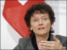Swiss justice minister Eveline Widmer-Schlumpf